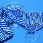 Glass rhapsody in blue
